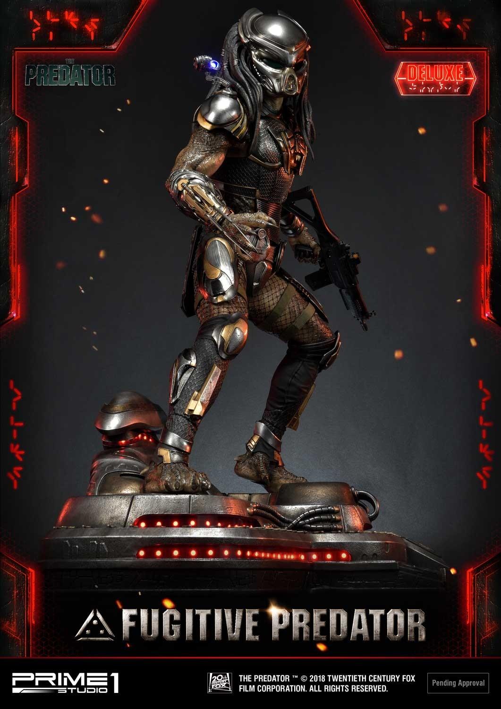 Premium Masterline The Predator (Film) Fugitive Predator Deluxe Version Pmtpr-22