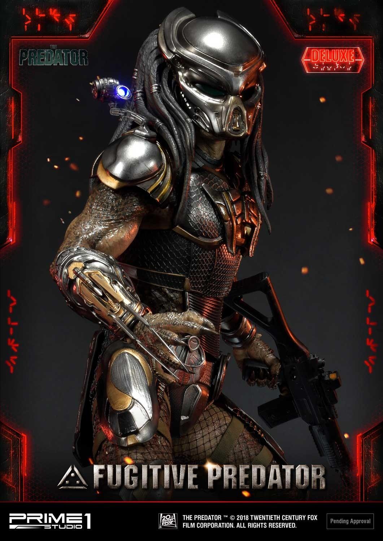 Premium Masterline The Predator (Film) Fugitive Predator Deluxe Version Pmtpr-23