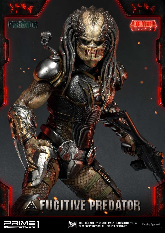 Premium Masterline The Predator (Film) Fugitive Predator Deluxe Version Pmtpr-24