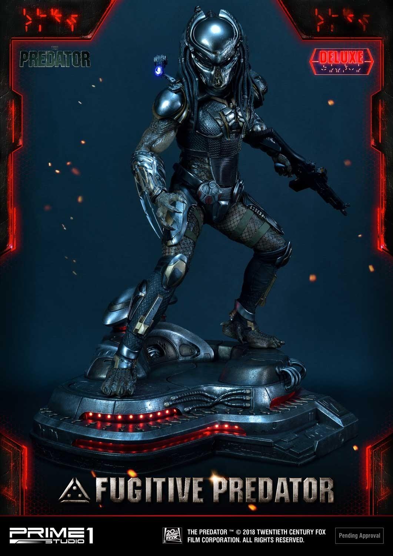 Premium Masterline The Predator (Film) Fugitive Predator Deluxe Version Pmtpr-25
