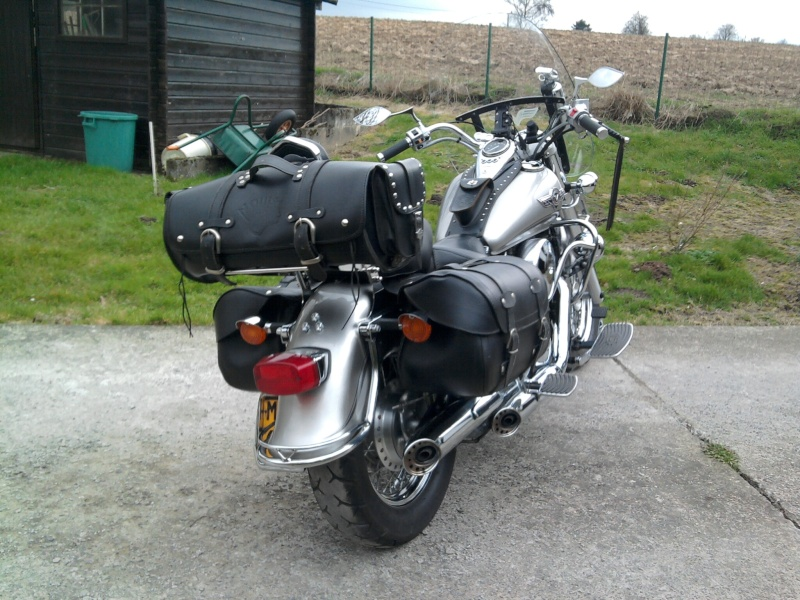 La VN 800 version Belge 00910