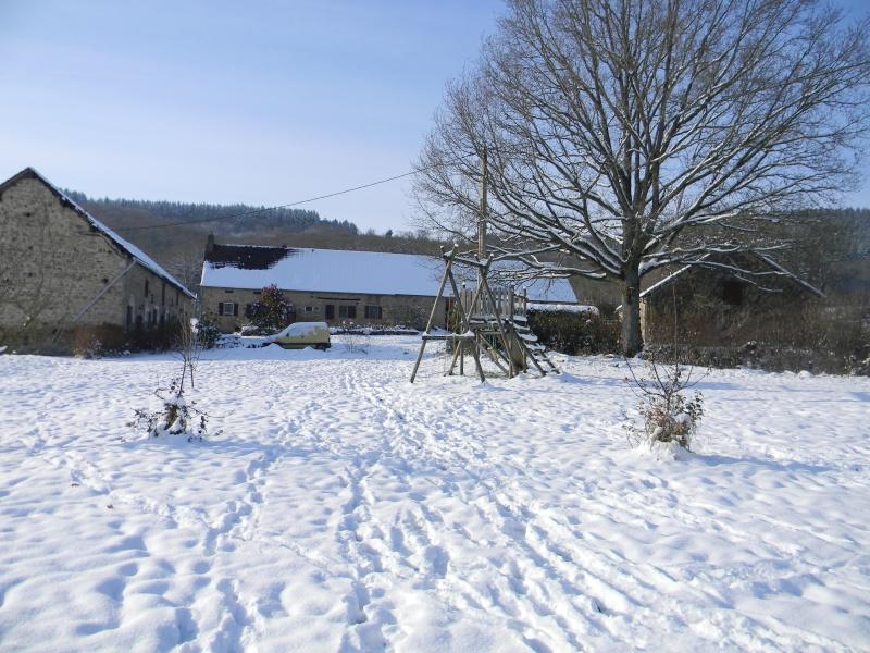 15 cm de neige dans le Morvan ! Nouvelles P1 et P2 Dscn0622