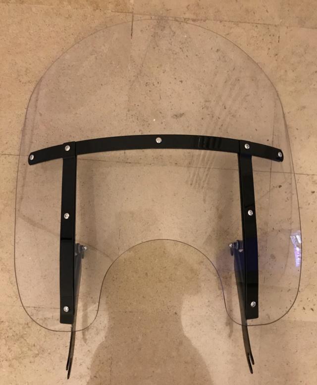Pare Brise HD noir  pour Softail Slim (Vendu) 6cca9c10