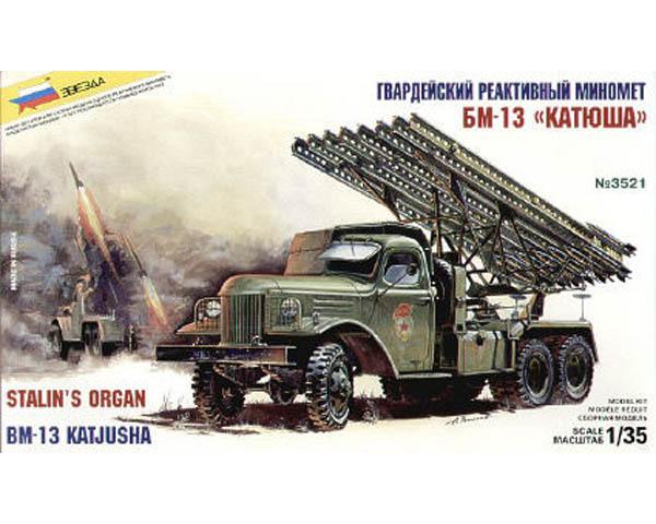 orgue de staline katjusha 1/35 zvesda Zvezda10
