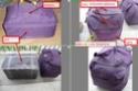 peindre un écarteur de danger en lieu et place sur sacoche de cyclocampeur 1gg11111