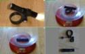 mini lampe avant pour cyclocamper en trike:1 seule pile AAA,3W 1gg41111