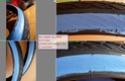 Peinture bleue (ou verte?) pour pneu de vélo: résolu ? Peintu13