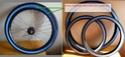 Peinture bleue (ou verte?) pour pneu de vélo: résolu ? Peintu14