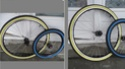 Peinture bleue (ou verte?) pour pneu de vélo: résolu ? Pneu_110