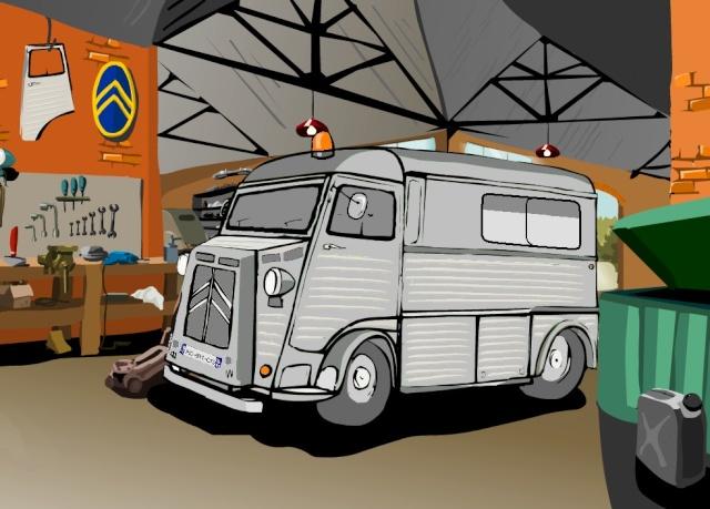 Présentation : Ex ambulance armée Projet10