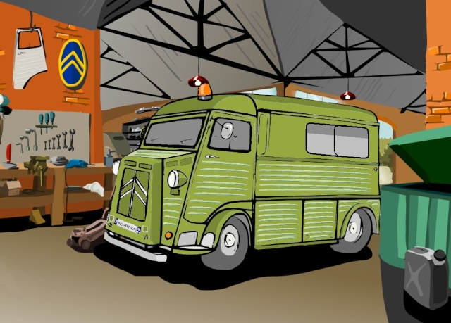 Présentation : Ex ambulance armée Projet11