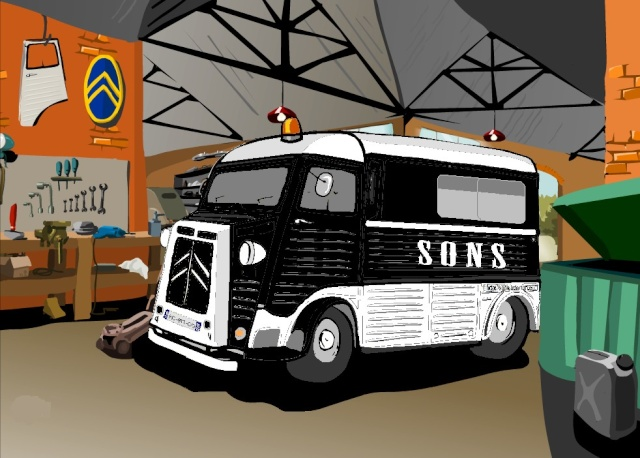 Présentation : Ex ambulance armée Projet13