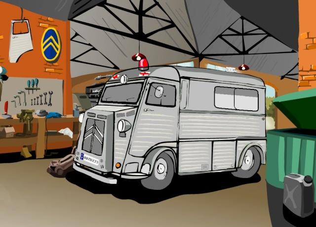 Présentation : Ex ambulance armée - Page 4 Projet18