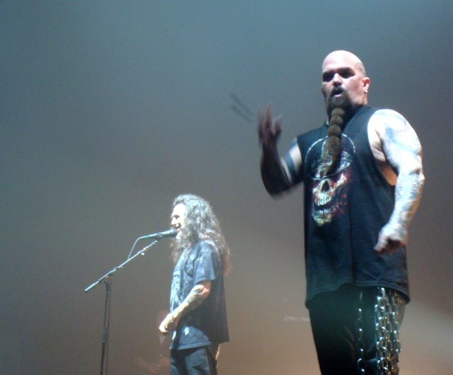 SLAYER/MEGADETH au Zenith de Paris  26/03/11 Dsc05811