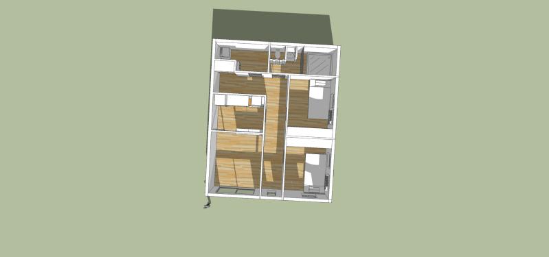 SketchUp'eur architecte -AnthO'- - Page 14 Maison11