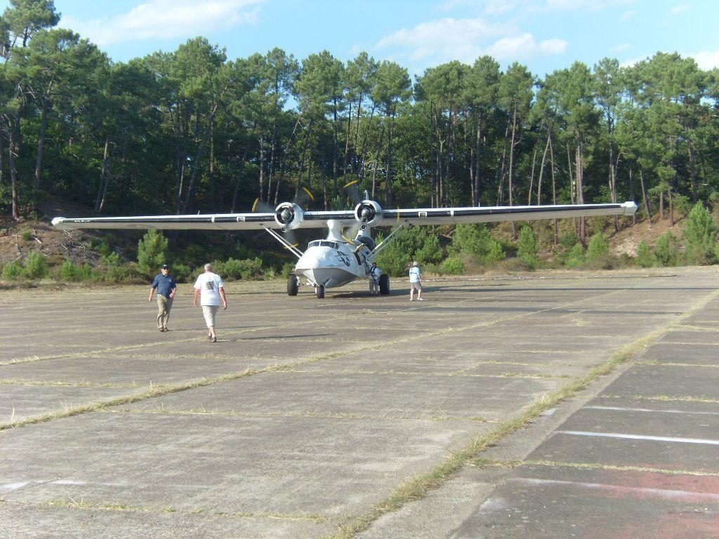 Le PBY-5 Catalina s'envole d'Orly Sl740410