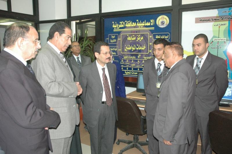 صور الوزير احمد درويش في غرفه التحكم بمحافظة الاسماعلية Dsc_0313