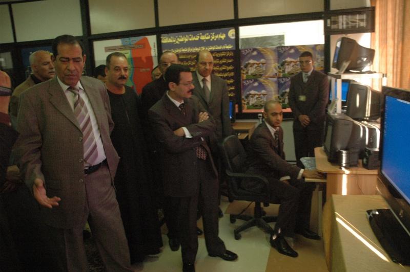 صور الوزير احمد درويش في غرفه التحكم بمحافظة الاسماعلية Dsc_0315