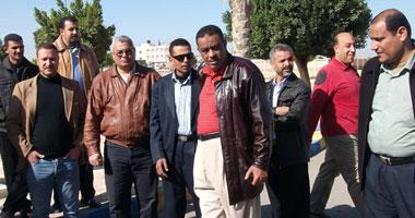 وقفة احتجاجية لمعلمى القنطرة شرق  S2201110