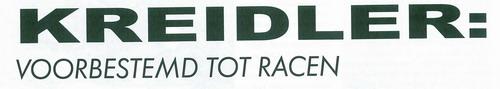 Voorbestemd tot racen (deel 1) Racing10