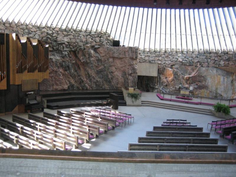 Eglise Temppeliaukio - Helsinki - Finlande 06062510