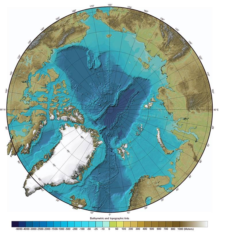 Essai - construction d'un overlay des zones polaires sur GE 410