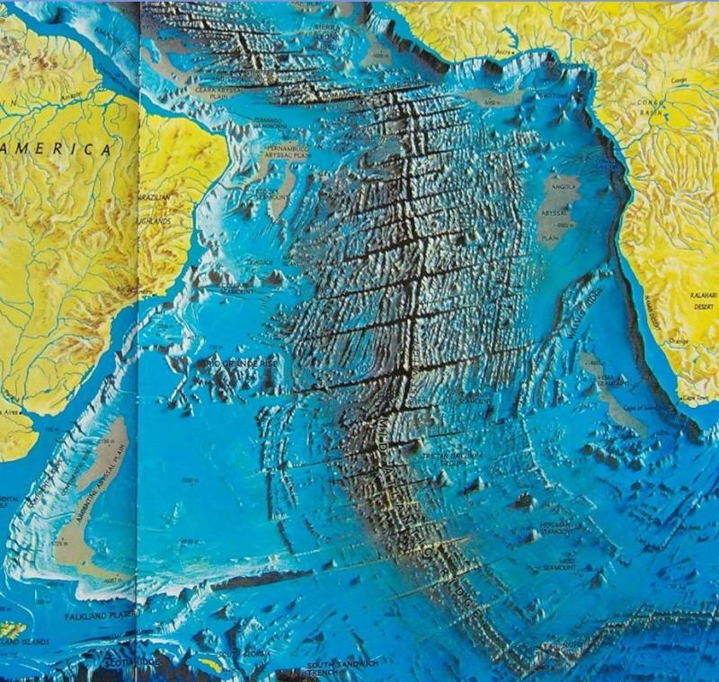 Le fond des mers et des océans A_1410