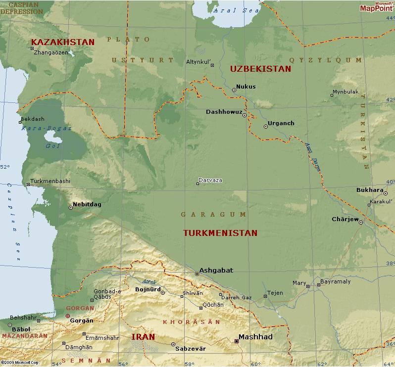 La porte de l'enfer - Darvaza - Turkménistan Captu101