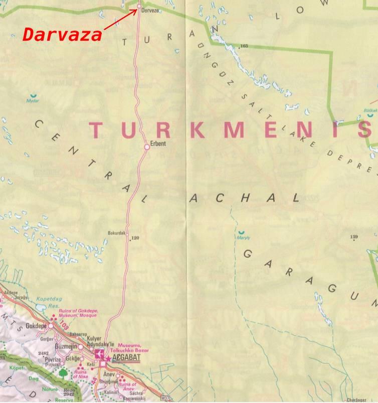 La porte de l'enfer - Darvaza - Turkménistan Captu102