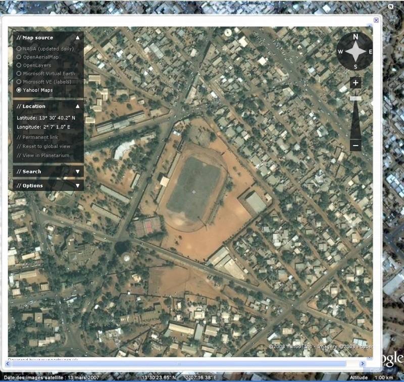 Stade municipal désaffecté de Niamey - Niger Captu105