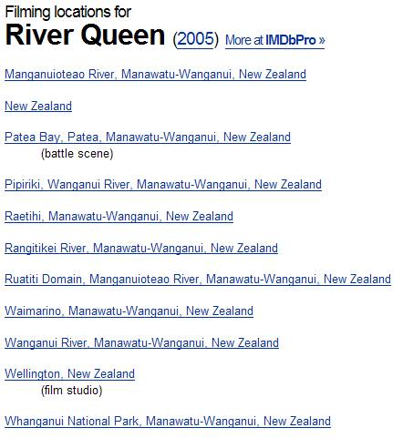 RIVER QUEEN / Maoris Maories / Nouvelle zelande Captu108
