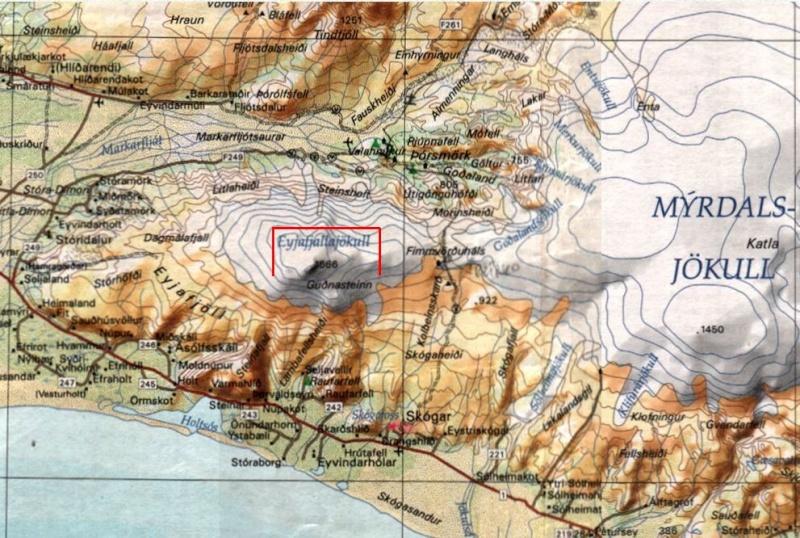 Eruption volcanique sous glacier - Eyjafjallajokull - Islande Captu325
