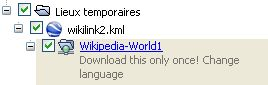 Wikipedia multilingue pour Google Earth. Captu333