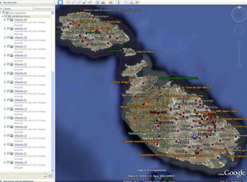 Wikipedia multilingue pour Google Earth. Captu338