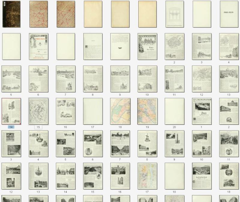 PARIS ATLAS de Fernand Bournon (1900) Captu371