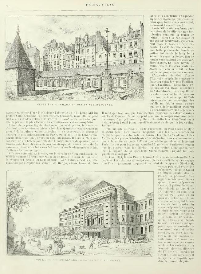 PARIS ATLAS de Fernand Bournon (1900) Captu372