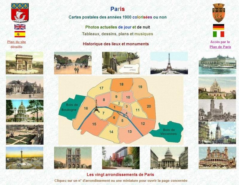 PARIS ATLAS de Fernand Bournon (1900) Captu376