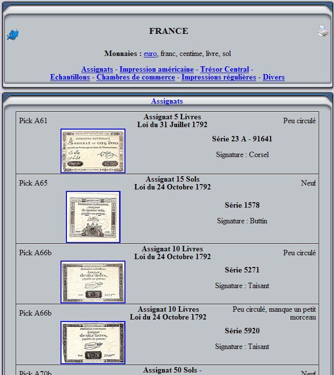 Billetophilie : Les monnaies du Monde Captu502