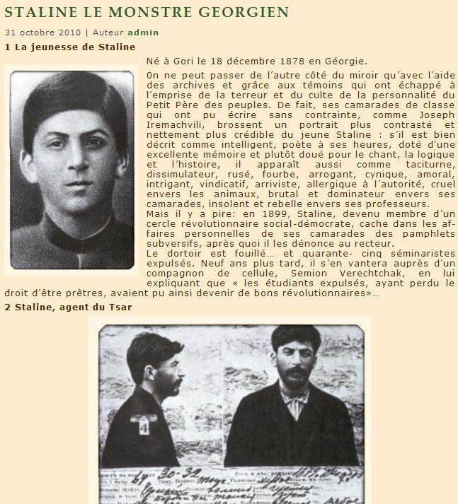 Gori, ville natale de Staline, Caucase - Géorgie Captu564