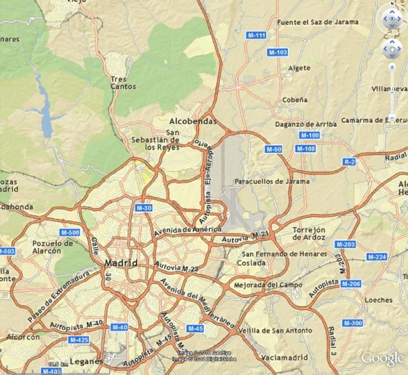 Cartes d'ArcGIS en overlay sur Google Earth Captu610