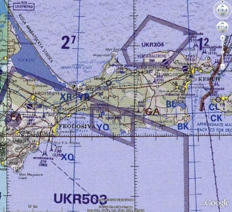 Cartes d'ArcGIS en overlay sur Google Earth Captu612