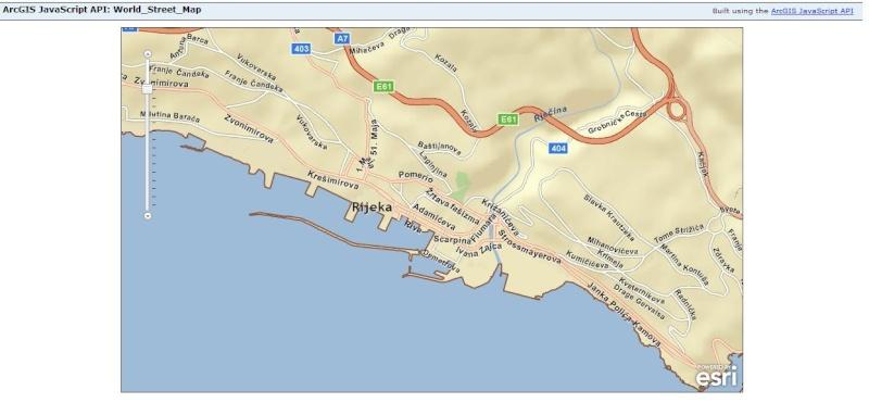 Cartes d'ArcGIS en overlay sur Google Earth Captu617