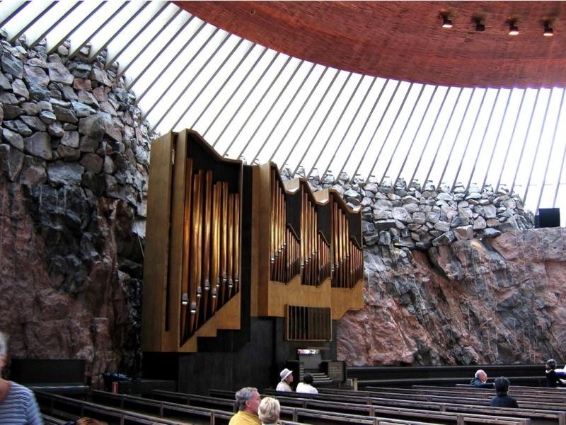 Eglise Temppeliaukio - Helsinki - Finlande Captu625