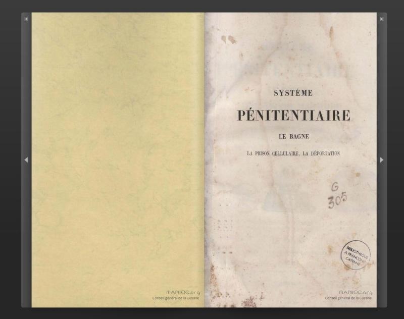 Le Bagne tel qu'il est aujourd'hui .......(1853) Captu653