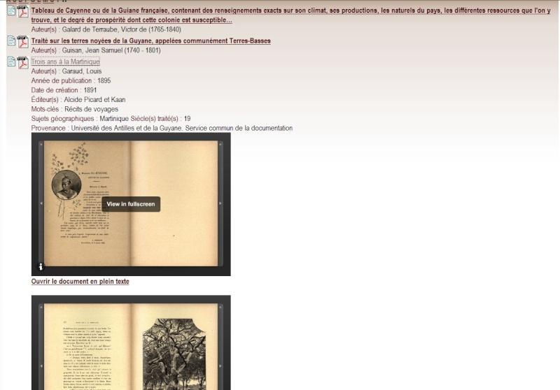 MANIOC Bibliothèque numérique Caraïbe, Amazonie, plateau des Guyanes. Captu656