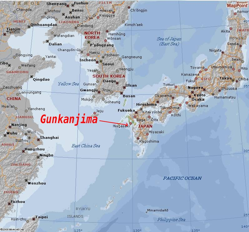 hashima - L'ile fantôme de Gunkan-Jima - Japon Captur42