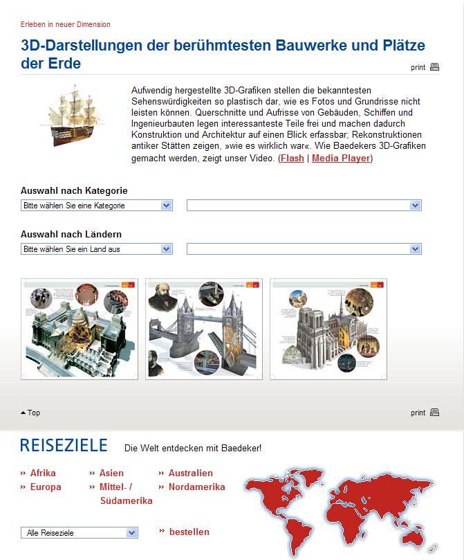 Baedeker Reiseführer : Cartes - Plans et écorchés 3D  Captur75