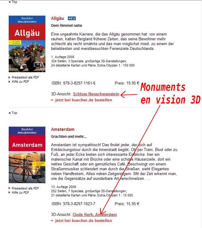Baedeker Reiseführer : Cartes - Plans et écorchés 3D  Captur76