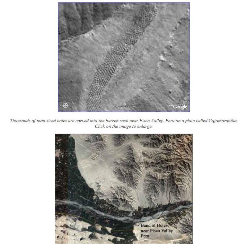 Trous de la vallée de Pisco, Pérou Captur90