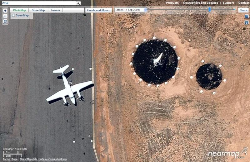 Google Earth et les AUTRES sites d'imagerie satellitaire. Carn0310